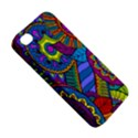 Pop Art Paisley Flowers Ornaments Multicolored Apple iPhone 4/4S Hardshell Case View5