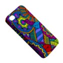 Pop Art Paisley Flowers Ornaments Multicolored Apple iPhone 4/4S Premium Hardshell Case View5
