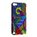 Pop Art Paisley Flowers Ornaments Multicolored Apple iPod Touch 5 Hardshell Case View2