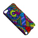 Pop Art Paisley Flowers Ornaments Multicolored Apple iPod Touch 5 Hardshell Case View5