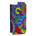 Pop Art Paisley Flowers Ornaments Multicolored Apple iPhone 5 Hardshell Case (PC+Silicone) View2