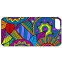 Pop Art Paisley Flowers Ornaments Multicolored Apple iPhone 5 Classic Hardshell Case View1