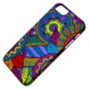 Pop Art Paisley Flowers Ornaments Multicolored Apple iPhone 5 Classic Hardshell Case View4