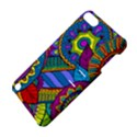 Pop Art Paisley Flowers Ornaments Multicolored Apple iPod Touch 5 Hardshell Case with Stand View4