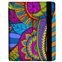 Pop Art Paisley Flowers Ornaments Multicolored Samsung Galaxy Tab 7  P1000 Flip Case View2