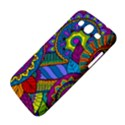 Pop Art Paisley Flowers Ornaments Multicolored Samsung Galaxy Mega 5.8 I9152 Hardshell Case  View4