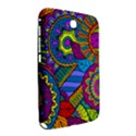 Pop Art Paisley Flowers Ornaments Multicolored Samsung Galaxy Note 8.0 N5100 Hardshell Case  View2