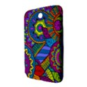Pop Art Paisley Flowers Ornaments Multicolored Samsung Galaxy Note 8.0 N5100 Hardshell Case  View3