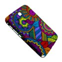 Pop Art Paisley Flowers Ornaments Multicolored Samsung Galaxy Note 8.0 N5100 Hardshell Case  View5