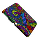Pop Art Paisley Flowers Ornaments Multicolored Samsung Galaxy Tab 3 (10.1 ) P5200 Hardshell Case  View5