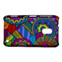 Pop Art Paisley Flowers Ornaments Multicolored Nokia Lumia 620 View1