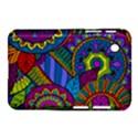 Pop Art Paisley Flowers Ornaments Multicolored Samsung Galaxy Tab 2 (7 ) P3100 Hardshell Case  View1