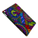 Pop Art Paisley Flowers Ornaments Multicolored iPad Air 2 Hardshell Cases View5