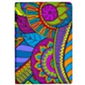 Pop Art Paisley Flowers Ornaments Multicolored iPad Air 2 Flip View1