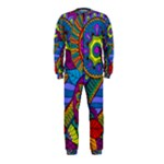 Pop Art Paisley Flowers Ornaments Multicolored OnePiece Jumpsuit (Kids)