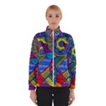 Pop Art Paisley Flowers Ornaments Multicolored Winterwear