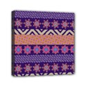 Colorful Winter Pattern Mini Canvas 6  x 6  View1