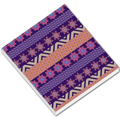 Colorful Winter Pattern Small Memo Pads by DanaeStudio