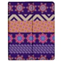Colorful Winter Pattern Apple iPad 2 Flip Case View1