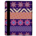 Colorful Winter Pattern Apple iPad 2 Flip Case View3