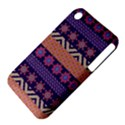Colorful Winter Pattern Apple iPhone 3G/3GS Hardshell Case (PC+Silicone) View4