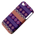 Colorful Winter Pattern Apple iPhone 4/4S Hardshell Case (PC+Silicone) View4