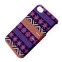 Colorful Winter Pattern Apple iPhone 4/4S Hardshell Case with Stand View4