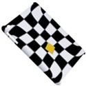 Dropout Yellow Black And White Distorted Check Apple iPad Mini Hardshell Case View5