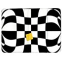 Dropout Yellow Black And White Distorted Check Samsung Galaxy Tab 7  P1000 Flip Case View1