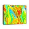 Happy Multicolor Painting Canvas 10  x 8  View1