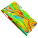 Happy Multicolor Painting Apple iPad 3/4 Hardshell Case (Compatible with Smart Cover) View5