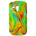 Happy Multicolor Painting Samsung Galaxy S3 MINI I8190 Hardshell Case View3