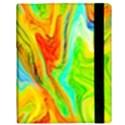 Happy Multicolor Painting Samsung Galaxy Tab 10.1  P7500 Flip Case View3