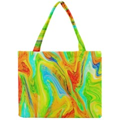 Happy Multicolor Painting Mini Tote Bag by designworld65