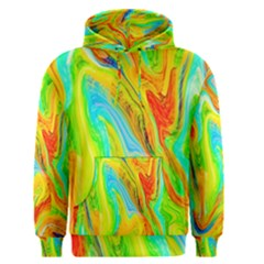 Happy Multicolor Painting Men s Pullover Hoodie