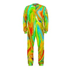 Happy Multicolor Painting OnePiece Jumpsuit (Kids) by designworld65