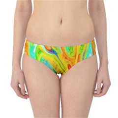 Happy Multicolor Painting Hipster Bikini Bottoms by designworld65