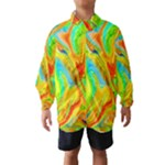 Happy Multicolor Painting Wind Breaker (Kids)