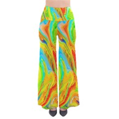 Happy Multicolor Painting Pants by designworld65