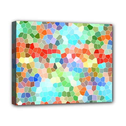 Colorful Mosaic  Canvas 10  X 8  by designworld65