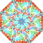 Colorful Mosaic  Folding Umbrellas