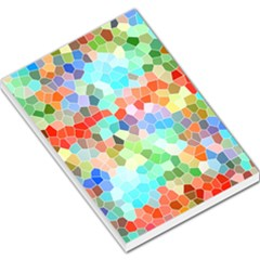 Colorful Mosaic  Large Memo Pads by designworld65