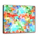 Colorful Mosaic  Deluxe Canvas 24  x 20   View1