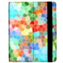 Colorful Mosaic  Apple iPad 2 Flip Case View2