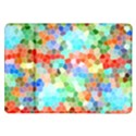 Colorful Mosaic  Samsung Galaxy Tab 10.1  P7500 Flip Case View1