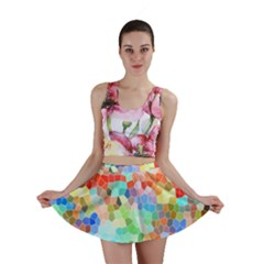 Colorful Mosaic  Mini Skirt by designworld65