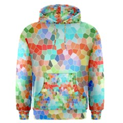 Colorful Mosaic  Men s Pullover Hoodie by designworld65