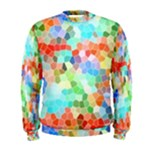 Colorful Mosaic  Men s Sweatshirt