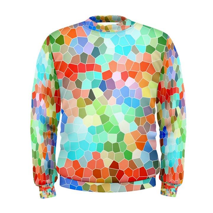 Colorful Mosaic  Men s Sweatshirt