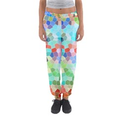 Colorful Mosaic  Women s Jogger Sweatpants by designworld65